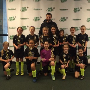 U9 Academy Forekicks winter champs